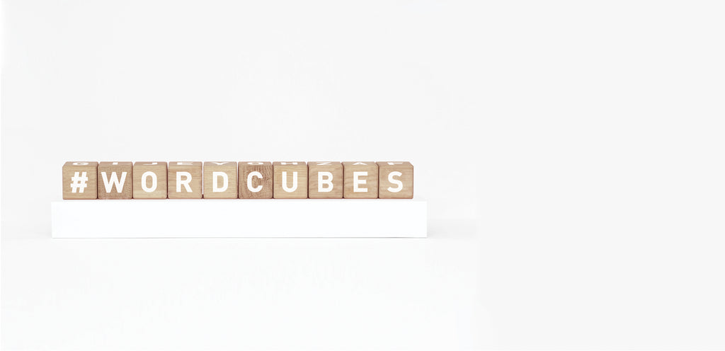 Word Cubes - White - ANNUAL STORE