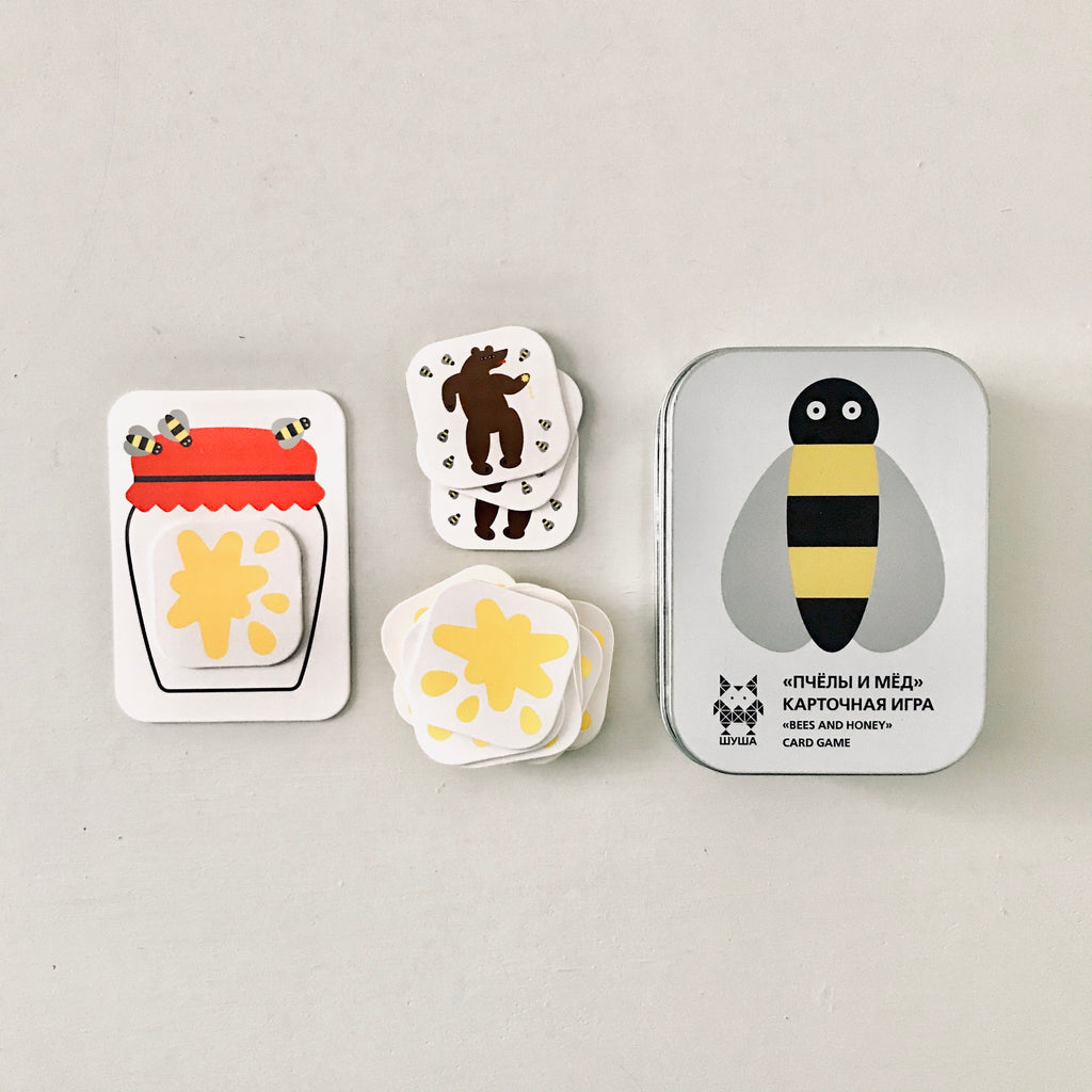 Shusha Toys - Bees and Honey Card Game