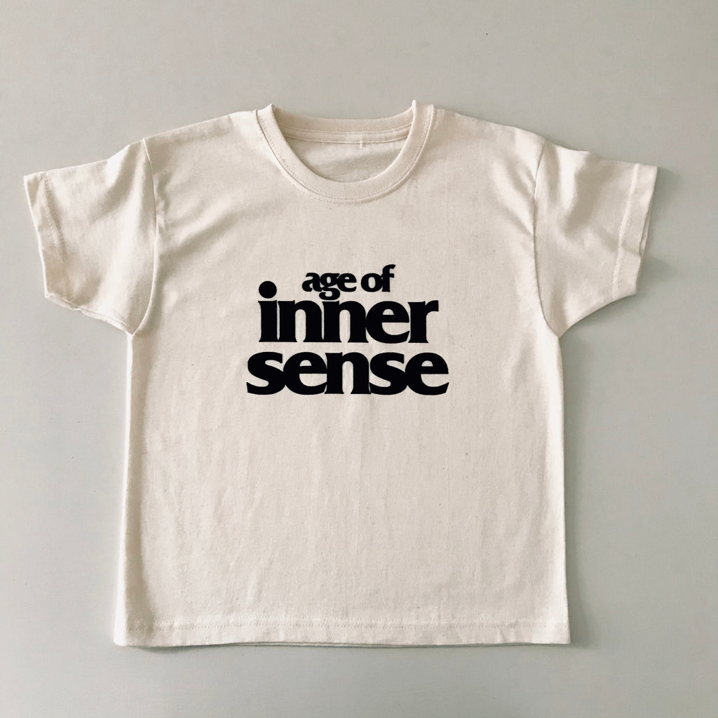 Age of Inner Sense T Shirt - Oat