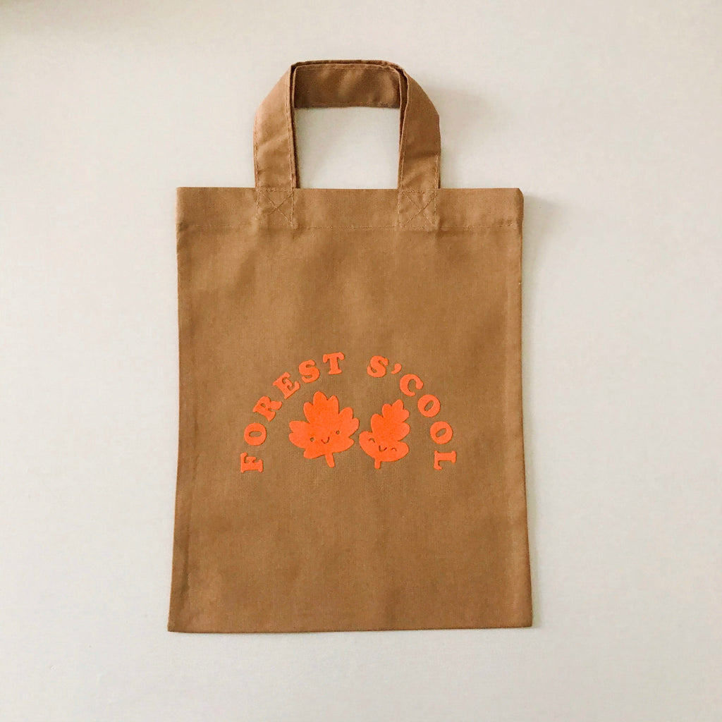 Forest S'cool Mini Bag - Cocoa / Tangerine