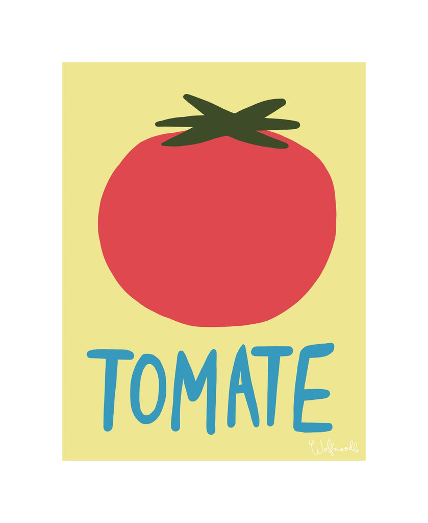 Wolfnoodle Tomate Print