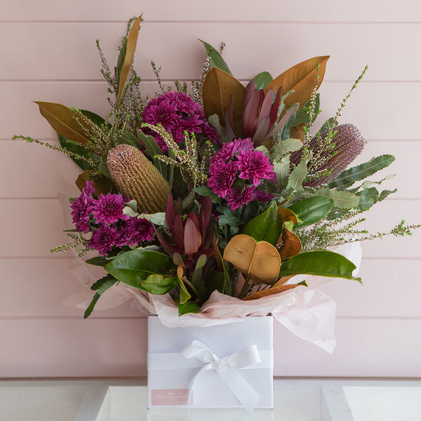 Wildflower Blooms Box by The Flower Shop Flowers Tatura Florist