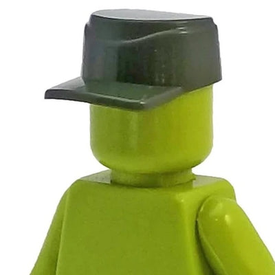 Minifig World War II German M43 Field Cap Green - Headgear