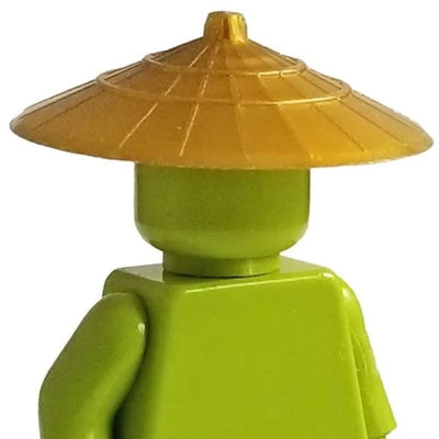 Minifig Asian Conical Hat - Headgear