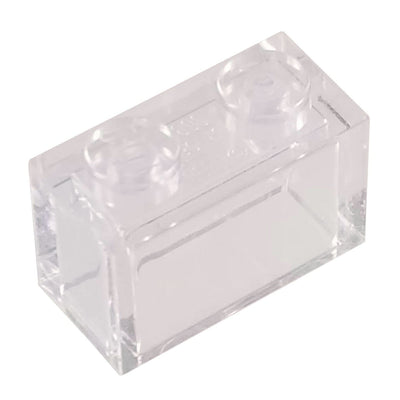 1x2 Brick Clear (1 each) - Bricks