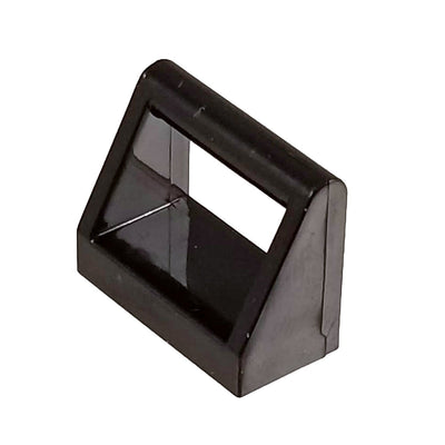 1x2 Clamp Handle Black (1 each) - Bricks