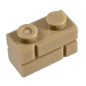 1x2 Masonry Profile Brick Brown (1 each) - Bricks
