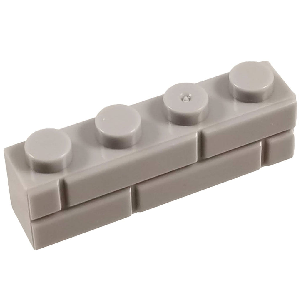 1x4 Masonry Profile Brick Light GREY (1 each) - Bricks