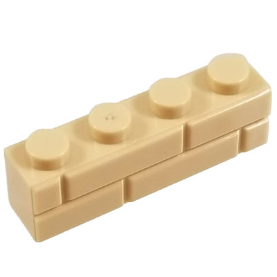 1x4 Masonry Profile Brick TAN (1 each) - Bricks