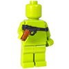 Minifig Colored German Luger - Pistol