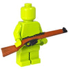 Minifig Colored British Enfield Rifle - Rifle