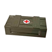 Minifig Dark Green Medical Crate - Accessories