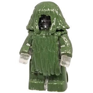 Minifig Ghillie Suit Green Brick Forces