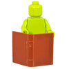 Minifig Brown Book - Accessories