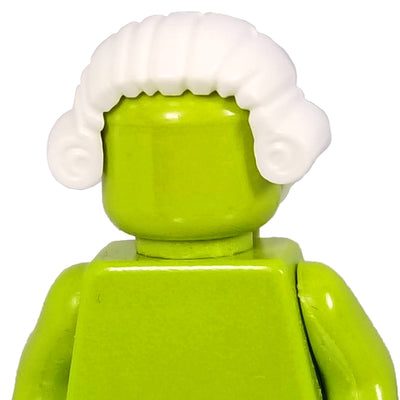 Minifig White Hair 2 - Hair