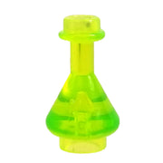 Minifig Light Green Clear Bottle - Accessories