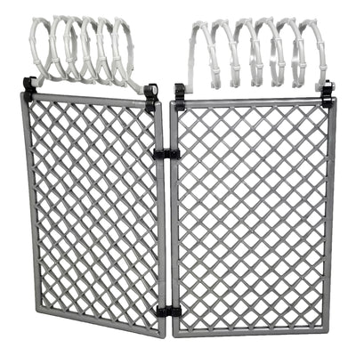 Minifig Chain Link Fence - Light Grey - Dioramas