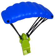 Minifig High-Altitude Parachute - Blue - Accessories