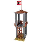 Minifig World War II German Guard Tower Set - Dioramas
