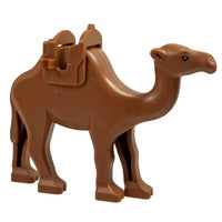 Minifig Camel Dark Brown - Animals