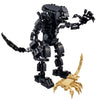 Brick Alien Warrior Figure with Face Hugger (442 Pieces) - Sets