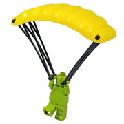 Minifig High-Altitude Parachute - Yellow - Accessories