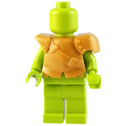 Minifig Gold City Watch Armor - Armor