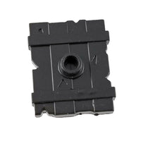 Minifig Black Wooden Shield - Shield