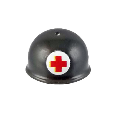 Minifig World War II American Medic Helmet - Headgear