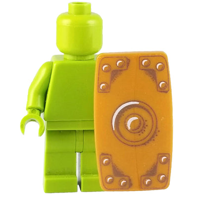 Minifig Gold Roman Shield - Shield