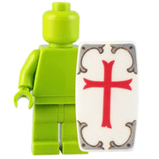 Minifig Knights Templar Shield - Shield