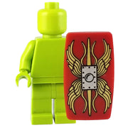Minifig Red Roman Scutum Shield v2 - Shield