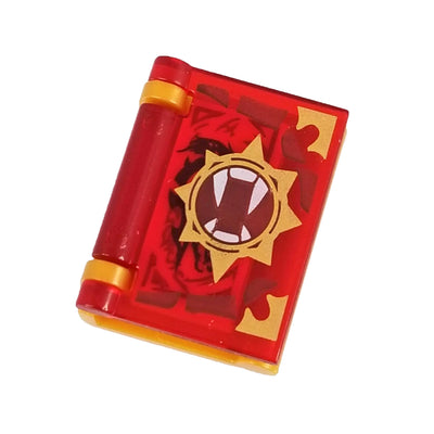Minifig Book of Anger - Accessories