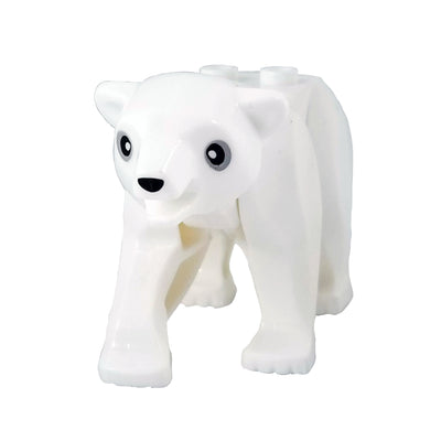 Minifig Polar Bear - Animals