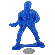 Large SWAT Officer with SMG - Blue - Collectable