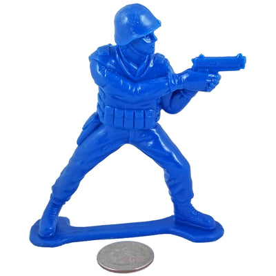 Large SWAT Officer with Pistol - Blue - Collectable