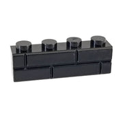 1x4 Masonry Profile Brick BLACK (1 each) - Bricks