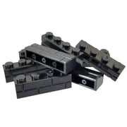 50 Brick Pack 1x4 Masonry Profile Brick BLACK - Bricks