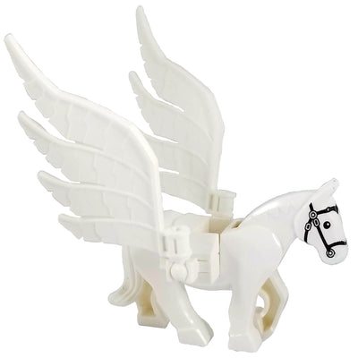 Minifig Pegasus Battle Horse - Animals