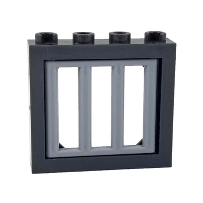 COBI Window with Bars - Bricks