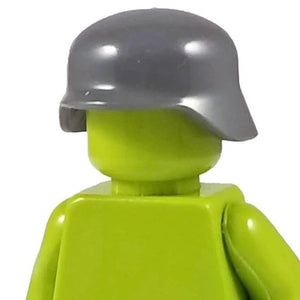 Minifig World War II German Helmet Gray - Headgear