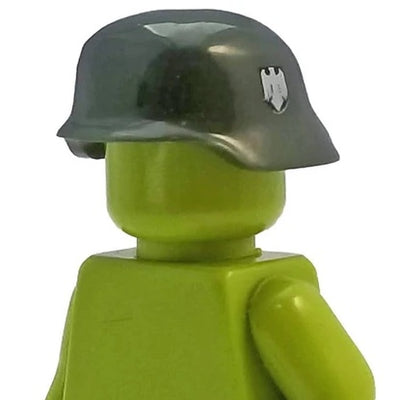 Minifig World War II German Helmet Green - Headgear