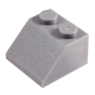2x2 /45 Degree Roof Tile Bricks GREY (1 each) - Bricks