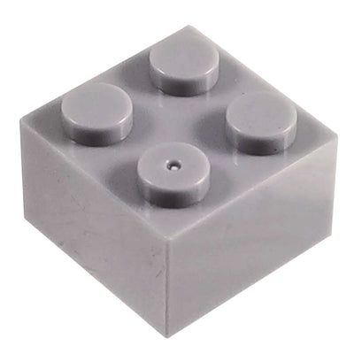 2x2 Brick GREY (1 each) - Bricks