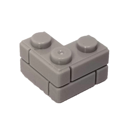 2x2 Corner Masonry Profile Brick Grey (1 each) - Bricks