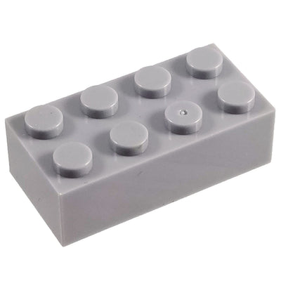 2x4 Brick GREY (1 each) - Bricks