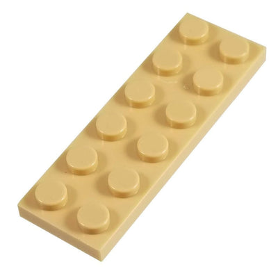 2x6 Plate Tan (1 each) - Bricks