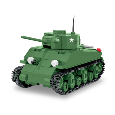 COBI M4 Sherman Tank 1:48 Scale (300 Pieces) - Tanks