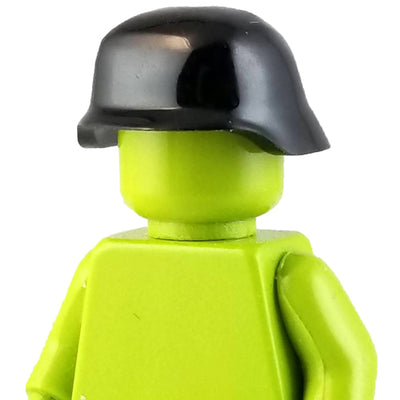 Minifig World War II German Helmet Black - Headgear