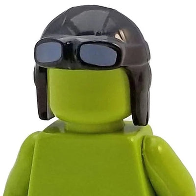 Minifig Pilot Headset with Googles - Headgear